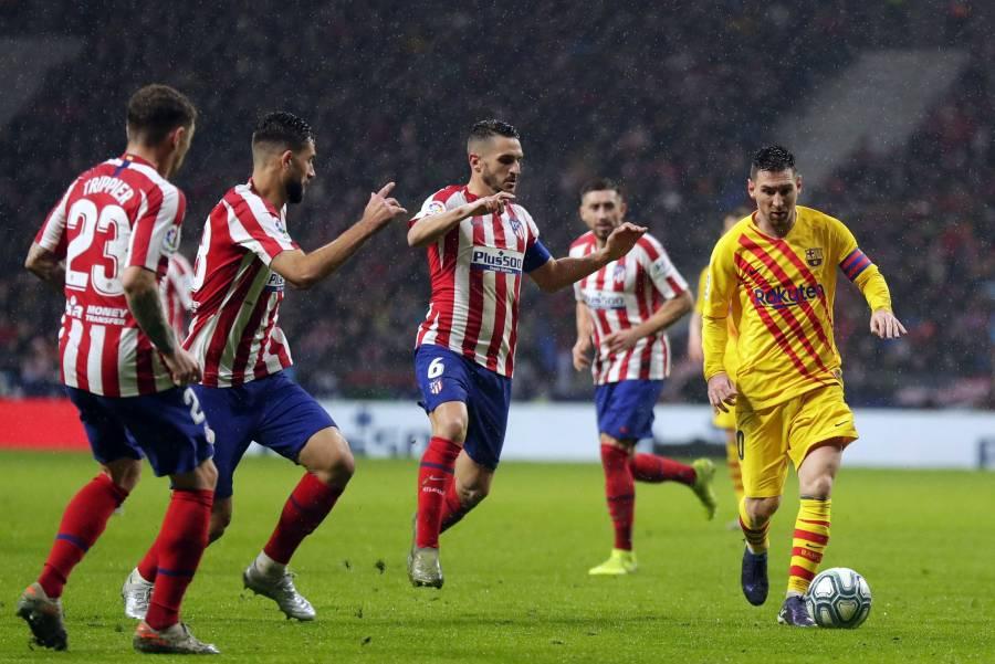 Messi lo hace de nuevo, le da el triunfo al Barcelona