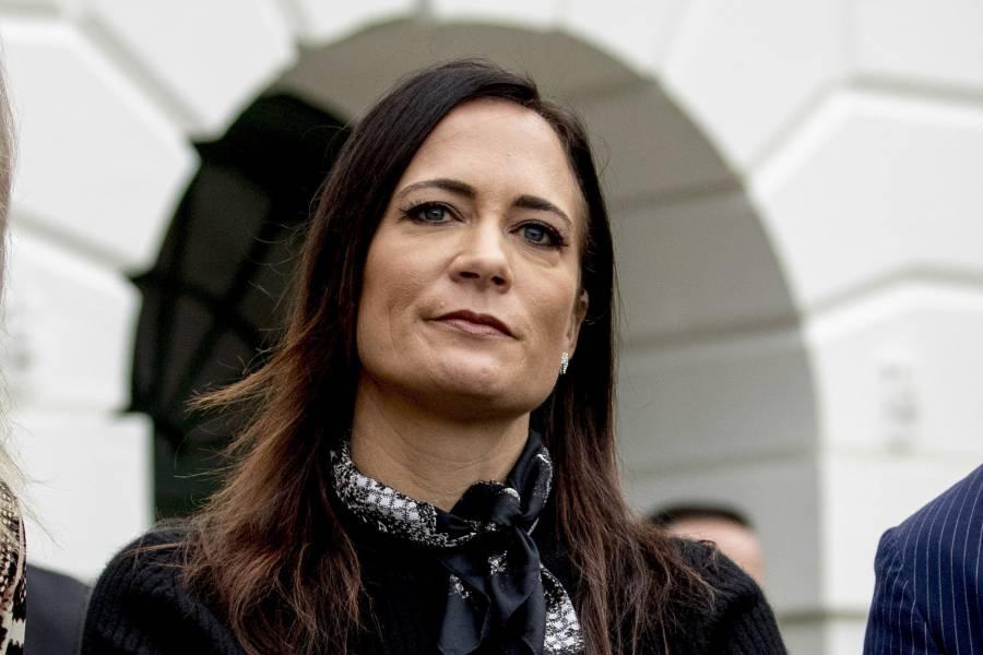 Jefa de gabinete de Melania Trump, Stephanie Grisham, presenta renuncia tras manifestaciones en Capitolio