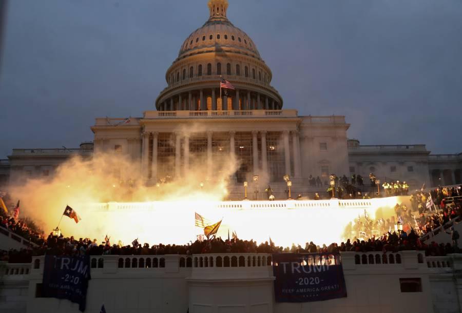 Líderes mundiales atónitos por violencia en el Capitolio