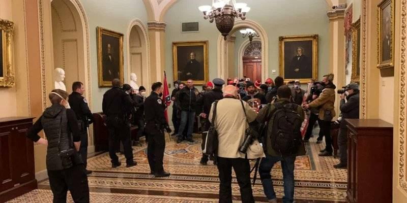 Ordenan toque de queda en Washington por protestas de simpatizantes de Trump