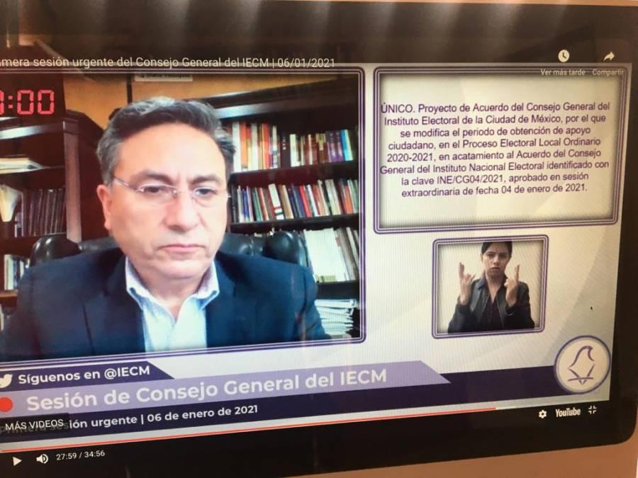 IECM amplia plazo para que candidaturas sin partido obtengan apoyo ciudadano
