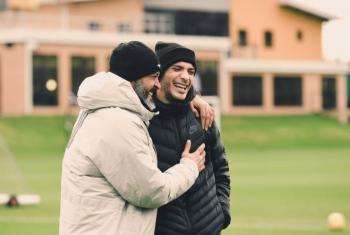 Raúl Jiménez vuelve al centro de entrenamiento del Wolverhampton