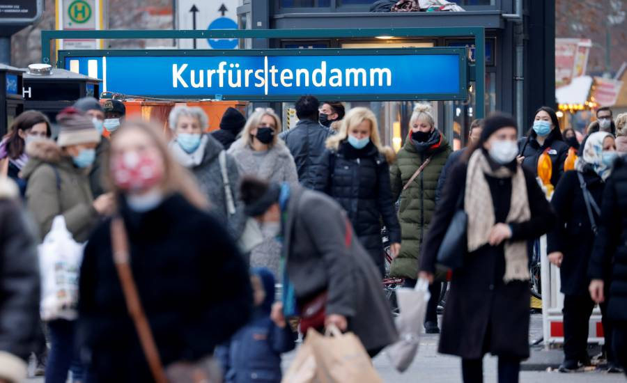 Extiende Alemania su confinamiento hasta el 31 de enero