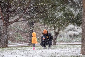 España enfrenta fuertes nevadas e intenso frío