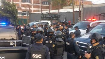 Video: Al menos 19 personas detenidas tras balacera en Topilejo