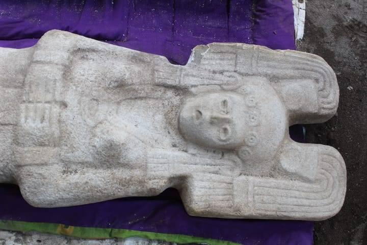La primera escultura femenina prehispánica es hallada en la Huasteca veracruzana