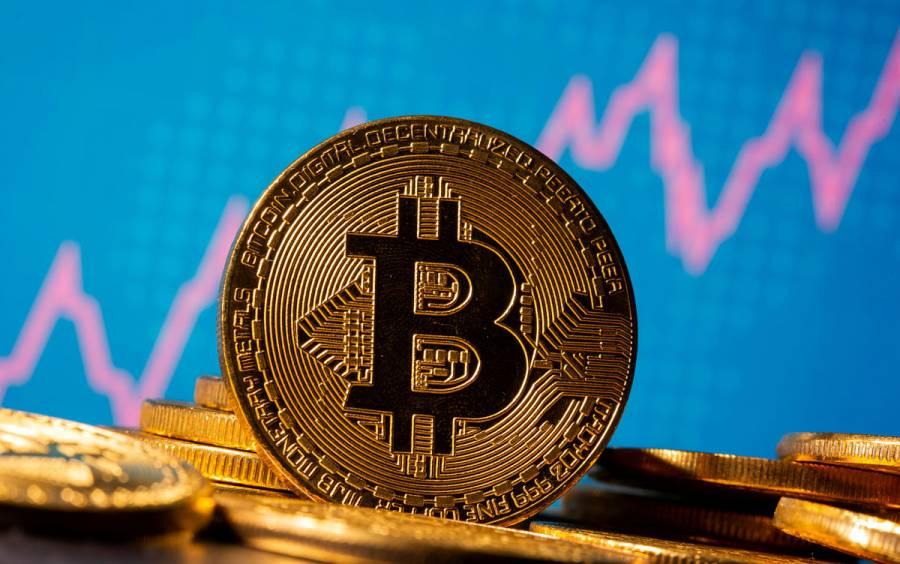 Bitcoin cae más de un 5% tras superar los 40 mil dólares por primera vez
