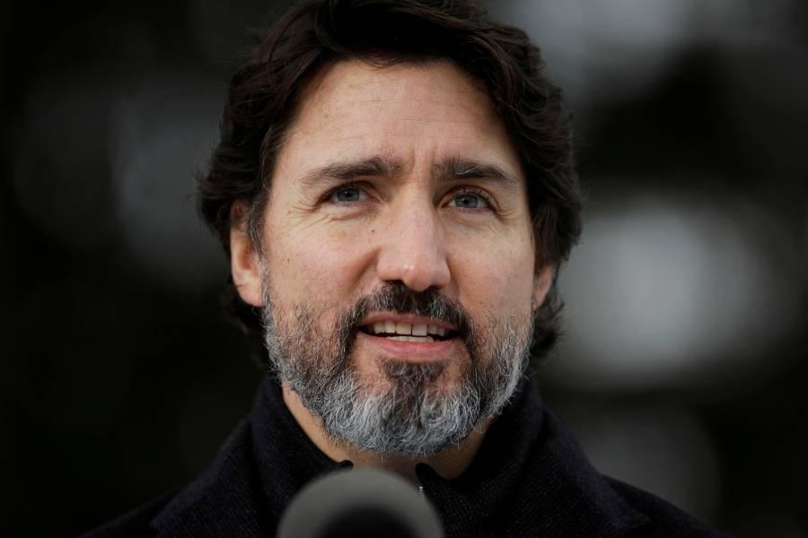 "Justin Trudeau: Donald Trump incitó al ""violento asalto"" en el Capitolio"