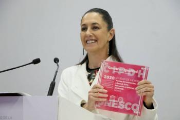 Recibe GCDMX premio de la UNESCO