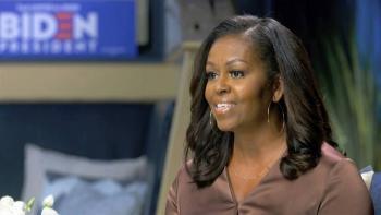 Llama infantil y antipatriota Michelle Obama a Trump