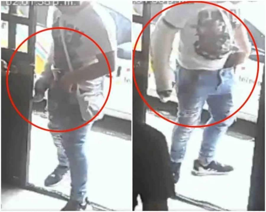 Video | Con el brazo enyesado robó un café internet en Tláhuac