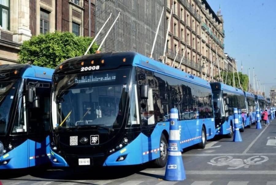 Trolebús llegará al CETRAM de Pantitlán