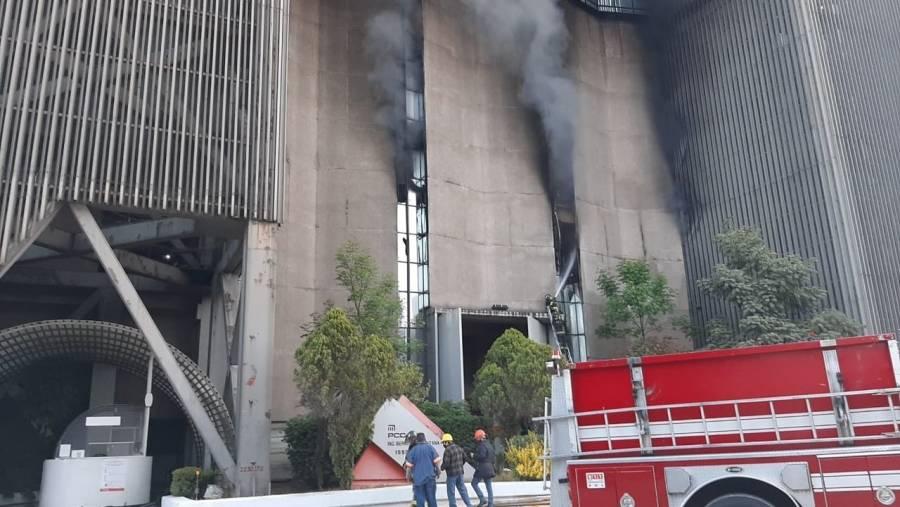 PRI acusa que la falta de mantenimiento provocó incendio en oficinas del Metro