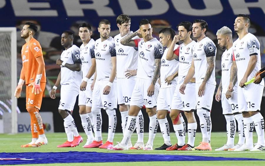 Atlas reporta dos casos positivos por Covid-19 previo a partido contra Monterrey