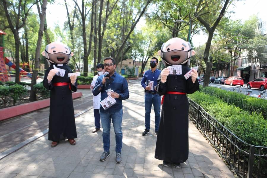 Alcaldía Miguel Hidalgo arranca campaña
