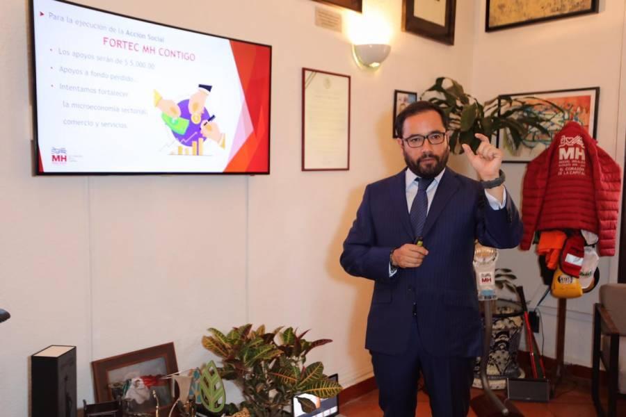 Invertirá Miguel Hidalgo más de 500 mdp para reactivar la economía local