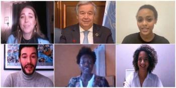 Insta ONU a que la pandemia sirva para construir un mundo más justo y saludable