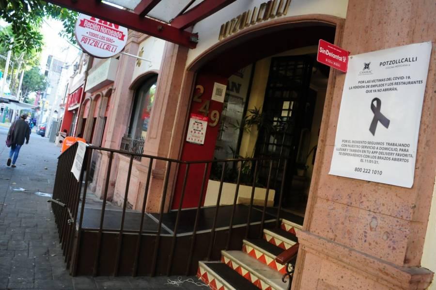 Restaurantes deciden abrir en la CDMX, pese al Semáforo Rojo