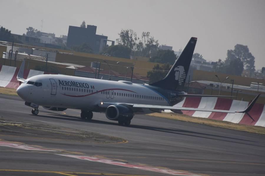 Pide Aeroméxico al Gobierno finalizar contratos colectivos de pilotos y sobrecargos