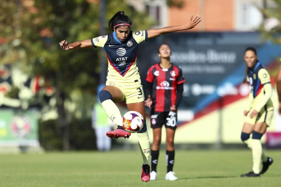 ¡Rompe quinielas! Atlas Femenil derrota al América en la primera jornada del Guardianes 2021