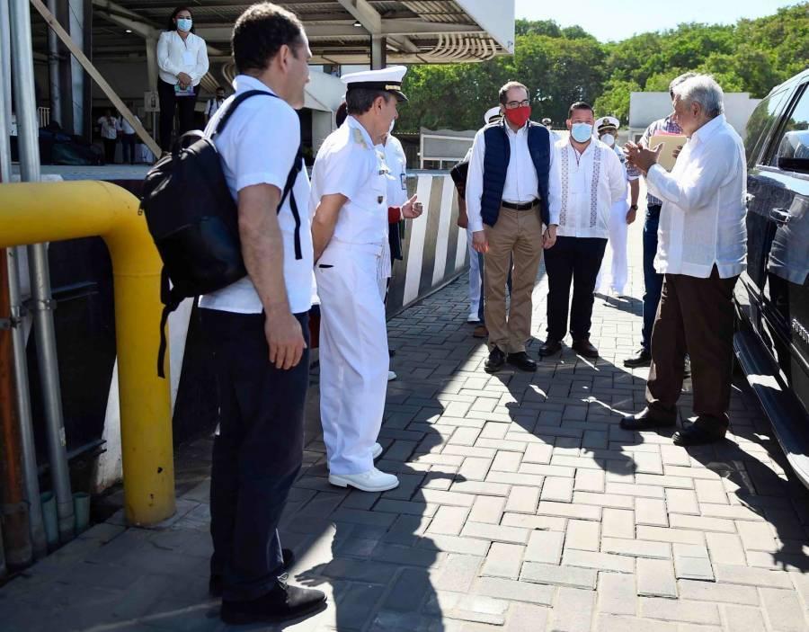 """""""Más seguridad en puertos es seguridad nacional"""""""