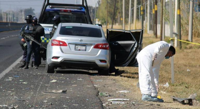 Al menos 10 personas muertas tras enfrentamientos entre policías e integrantes del CJNG en Guanajuato