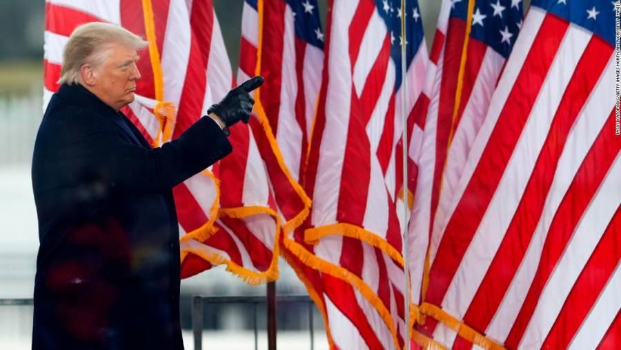 Trump declara Estado de Emergencia en Washington previo a toma de protesta de Joe Biden