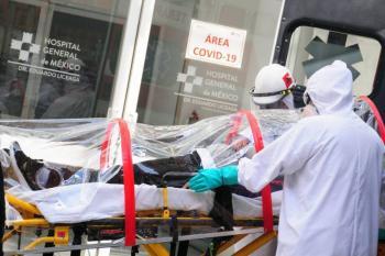 Ocupación hospitalaria al 90 por ciento en CDMX