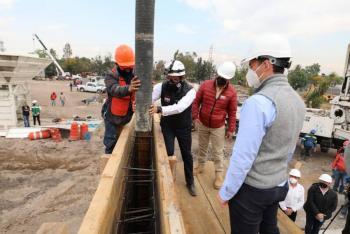 Construye Miguel Hidalgo primer centro de reciclaje de residuos de construcción