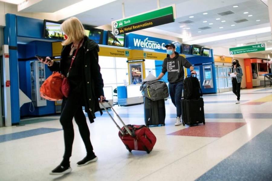 Viajeros deberán presentar prueba negativa de Covid para ingresar a EE. UU.
