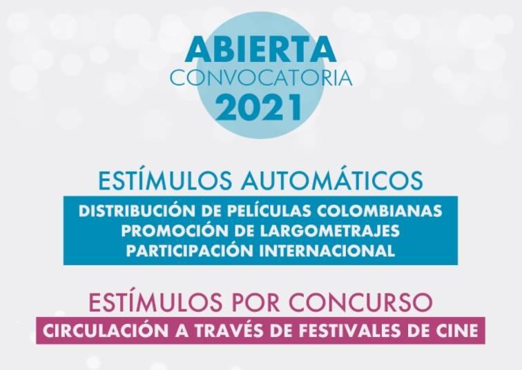 Colombia abre convocatorias para apoyar creaciones cinematográficas en 2021