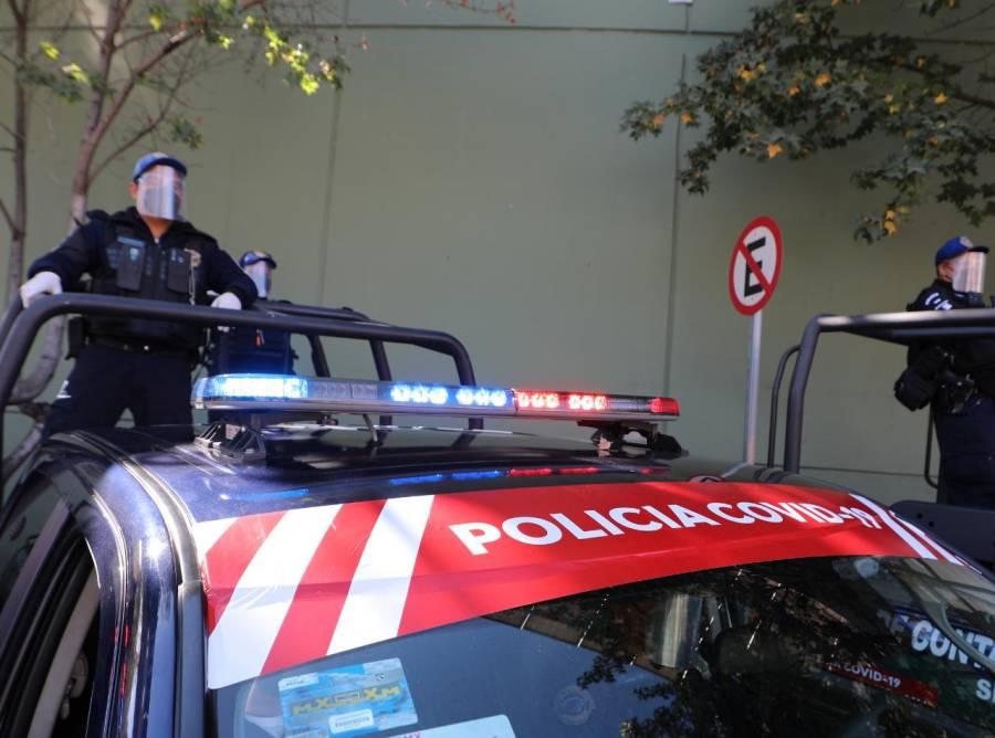 Activan brigadas de la Policía Covid-19 en la alcaldía Miguel Hidalgo