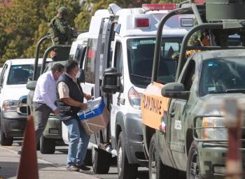 Fuerzas armadas realizan operativo especial para distribución de vacunas covid