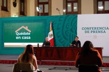 Llegan a México 439 mil 725  vacunas contra Covid