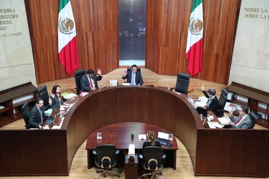 TEPJF revoca acuerdo del INE para horarios y franjas de transmisión de promocionales de partidos