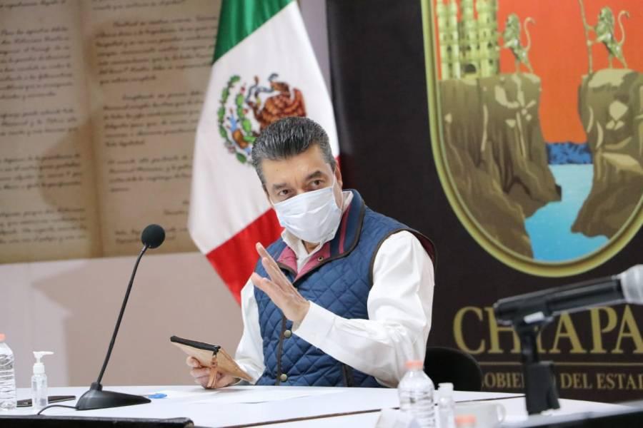 Chiapas iniciará esta semana aplicación de vacuna contra Covid