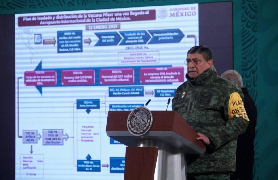 Fuerzas armadas distribuirán vacunas