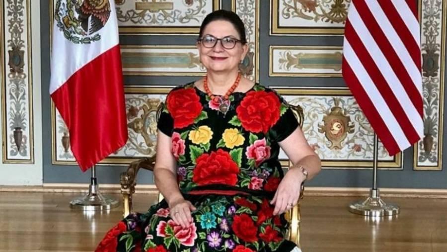 Martha Bárcena será la representante de México en la toma de posesión de Joe Biden