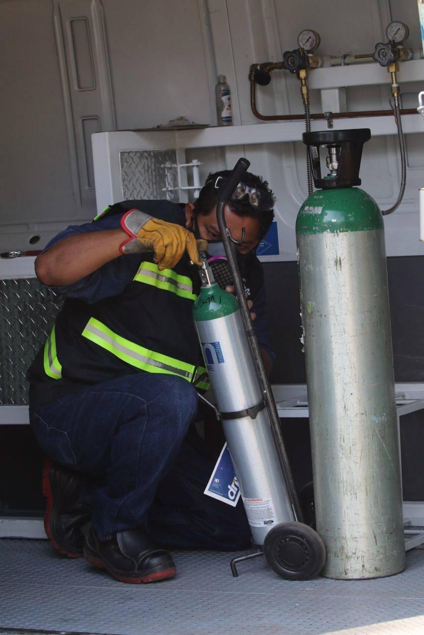 Consigue y rellena gratis tanques de oxígeno en CDMX y EDOMEX