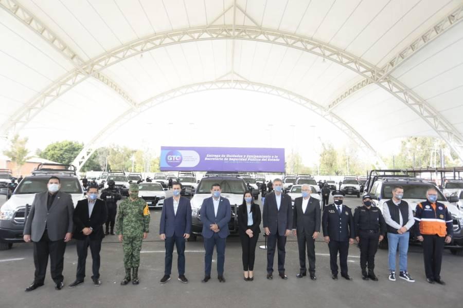 Destinan más de 146 mdp para fortalecer la Secretaría de Seguridad Pública de Guanajuato
