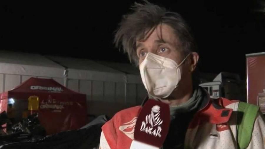 Motociclista francés Pierre Charpin muere días después de accidentarse en el Rally Dakar