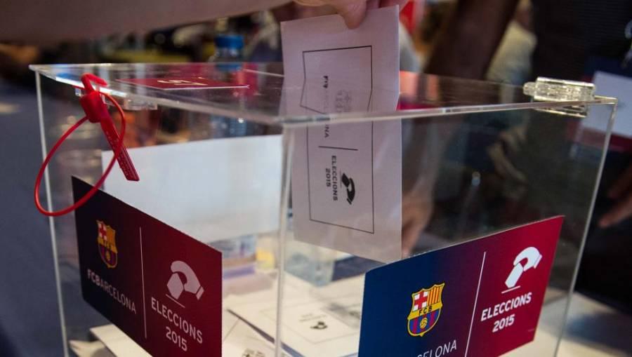 El Barcelona aplaza las elecciones presidenciales por la tercera ola de COVID-19