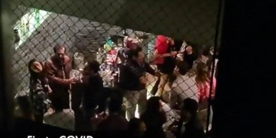 Alcaldía Cuajimalpa suspende fiesta Covid-19 en la colonia Chamizal