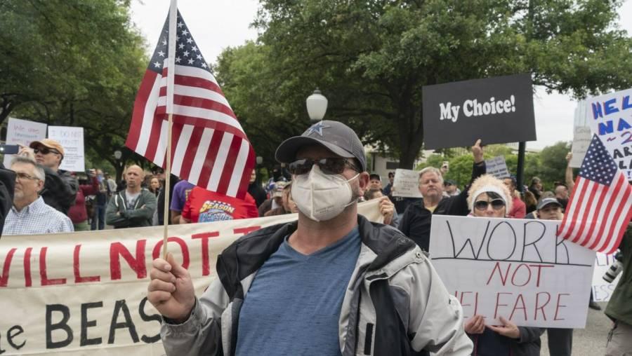 Hay tensión en EEUU por protestas ante fin de presidencia Trump