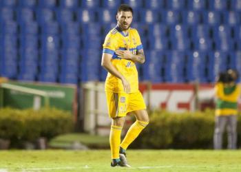 Gignac sufre lesión muscular; se perderá partido ante Santos