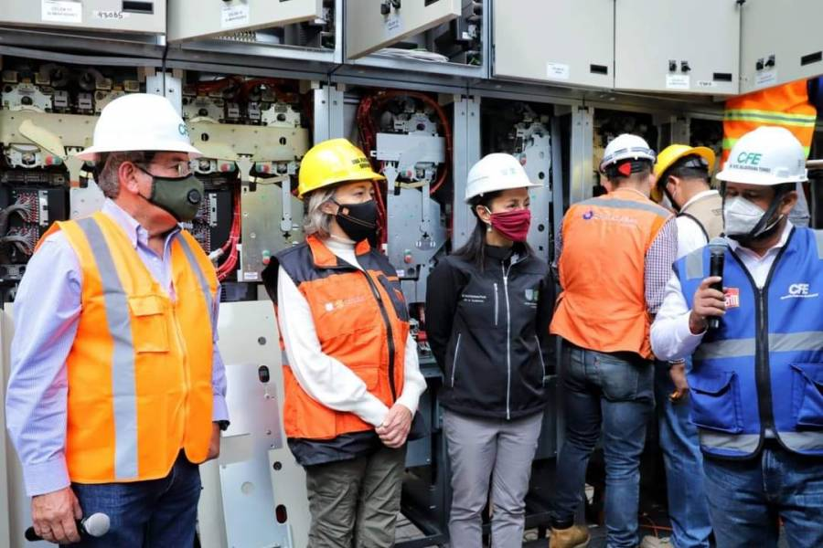 Compromete Sheinbaum modernización de líneas del STC Metro