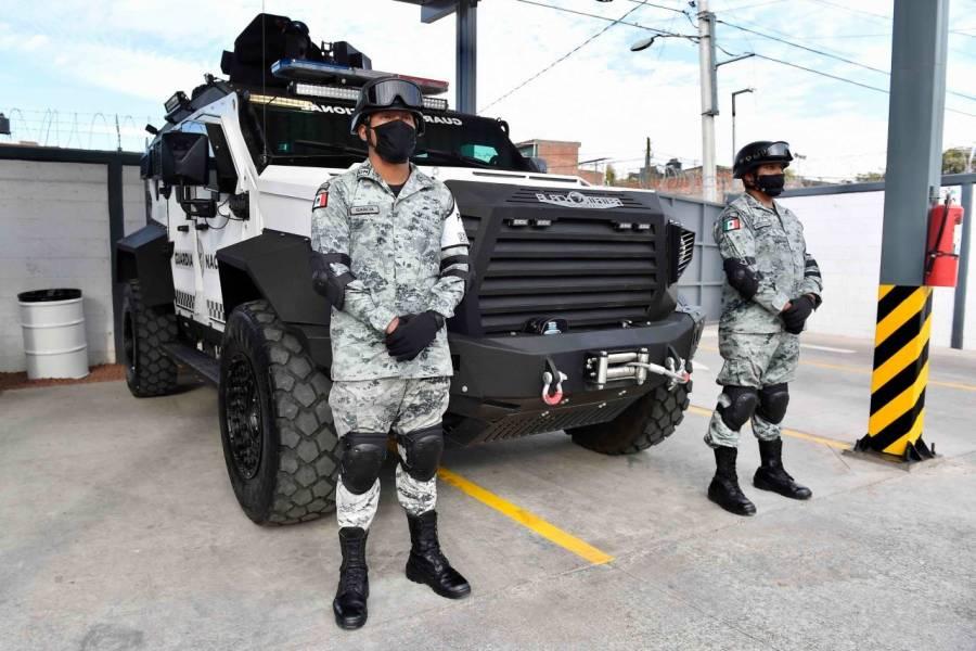 Secuestran a elementos de la Guardia Nacional