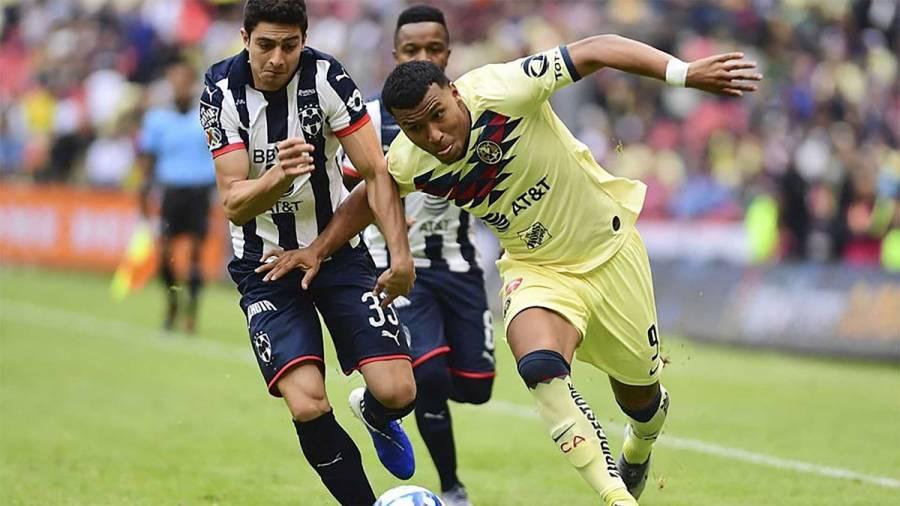Monterrey se impone al América con gol de Funes Mori