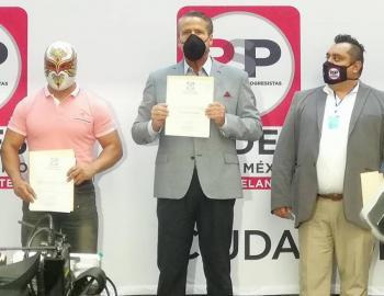 Alfredo Adame se registra como precandidato a diputación por RSP
