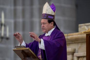 Cardenal Norberto Rivera, hospitalizado por COVID-19